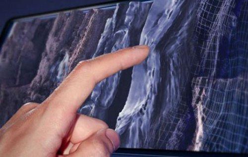 Новейшие дисплеи позволяют потрогать изображение * новости интернета