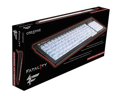Creative Fatal1ty Gaming Keyboard