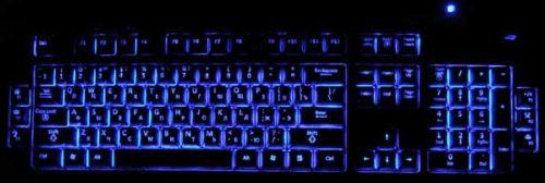 Как сделать подсветку кнопок клавиатуры